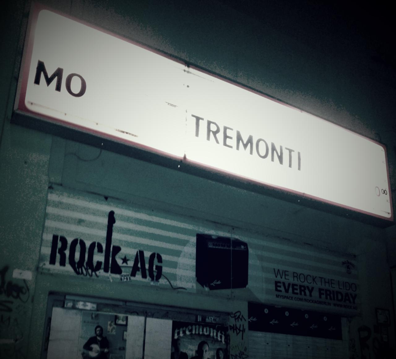 Tremonti concert in Berlin, Lido